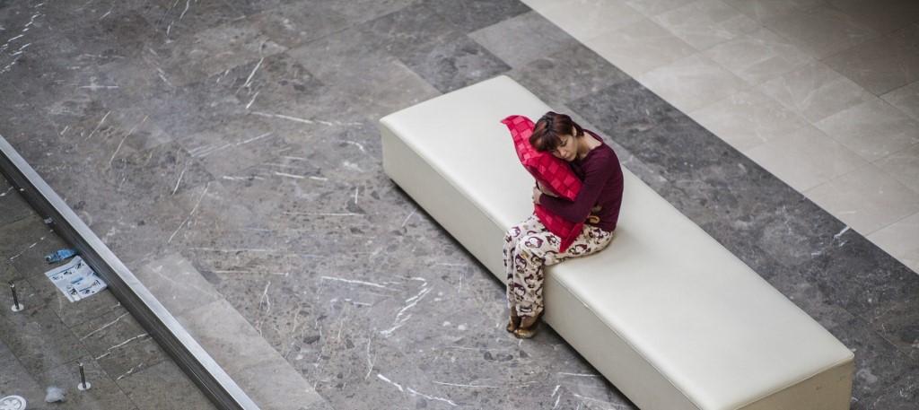 Op de bank in slaap vallen - slapeloosheid